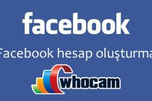 facebook hesap oluşturma